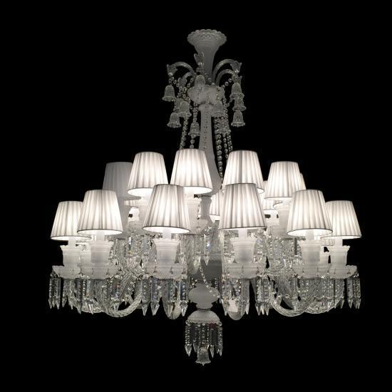 LUSTRE CLEAR EST. BACARAT 24 LAMPADAS
