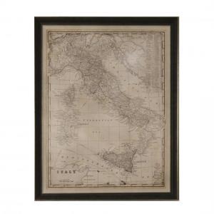 QUADRO MAPA ITALY